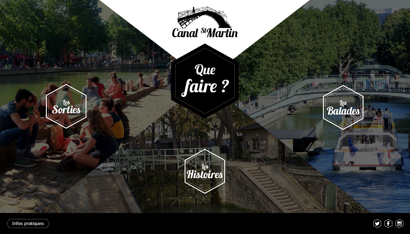 Wirefrance Canal Saint Martin Homepage