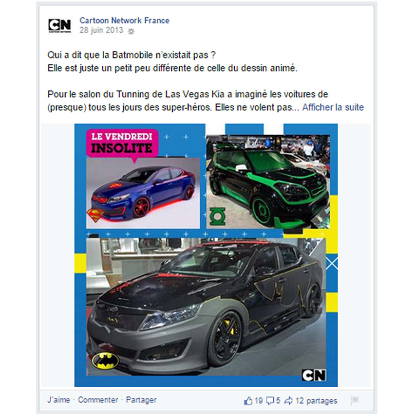 Vendredi insolite facebook Cartoon Network
