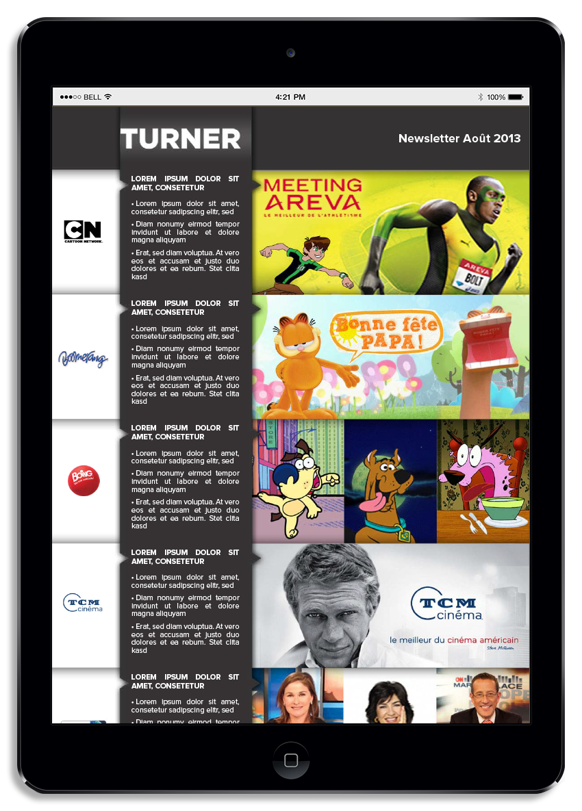 proposition newsletter Turner